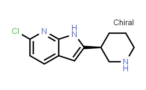 1001069-43-7 | 1H-Pyrrolo[2,3-b]pyridine, 6-chloro-2-[(3S)-3-piperidinyl]-