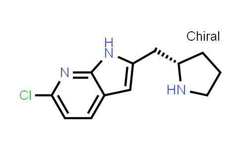 1001069-69-7 | 1H-Pyrrolo[2,3-b]pyridine, 6-chloro-2-[(2S)-2-pyrrolidinylmethyl]-