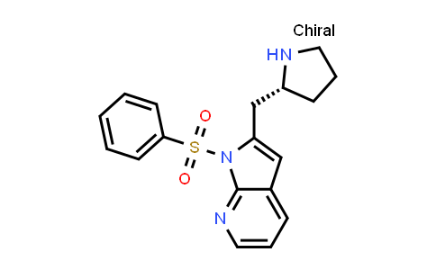 1001070-20-7 | 1H-Pyrrolo[2,3-b]pyridine, 1-(phenylsulfonyl)-2-[(2R)-2-pyrrolidinylmethyl]-