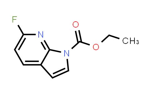 1001070-28-5 | 1H-Pyrrolo[2,3-b]pyridine-1-carboxylic acid, 6-fluoro-, ethyl ester