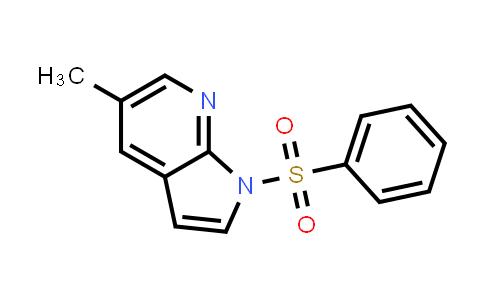 1001070-50-3 | 1H-Pyrrolo[2,3-b]pyridine, 5-methyl-1-(phenylsulfonyl)-