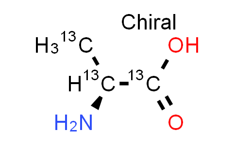 100108-77-8 | L-Alanine-1,2,3-13C3