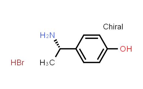 1001094-89-8 | (S)-4-(1-Aminoethyl)phenol hydrobromide