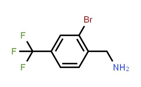 1001109-50-7 | (2-Bromo-4-(trifluoromethyl)phenyl)methanamine