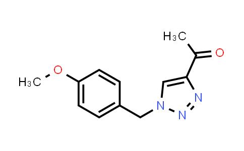 1001112-90-8 | Ethanone, 1-[1-[(4-methoxyphenyl)methyl]-1H-1,2,3-triazol-4-yl]-
