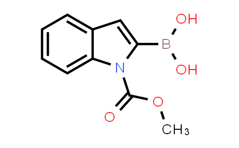 1001162-89-5 | (1-(Methoxycarbonyl)-1H-indol-2-yl)boronic acid