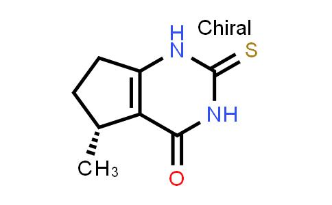 1001178-85-3   (R)-5-Methyl-2-thioxo-2,3,6,7-tetrahydro-1H-cyclopenta[d]pyrimidin-4(5H)-one