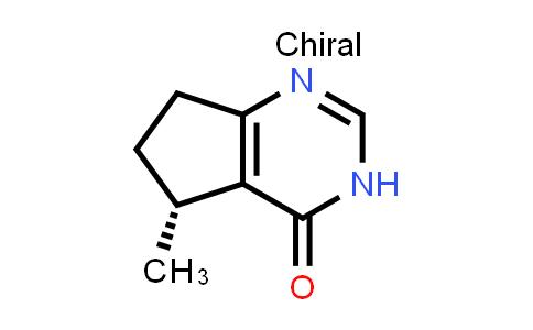 1001178-87-5   (R)-5-Methyl-3,5,6,7-tetrahydro-4H-cyclopenta[d]pyrimidin-4-one