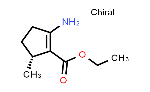 1001180-35-3 | Ethyl (R)-2-amino-5-methylcyclopent-1-ene-1-carboxylate