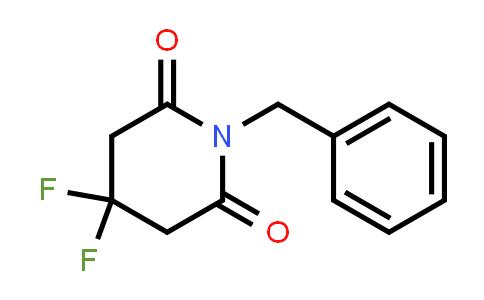 1001337-74-1 | 1-Benzyl-4,4-difluoropiperidine-2,6-dione
