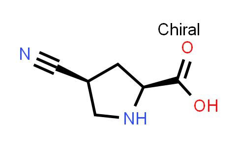 1001354-49-9 | (2S,4S)-4-cyanopyrrolidine-2-carboxylic acid