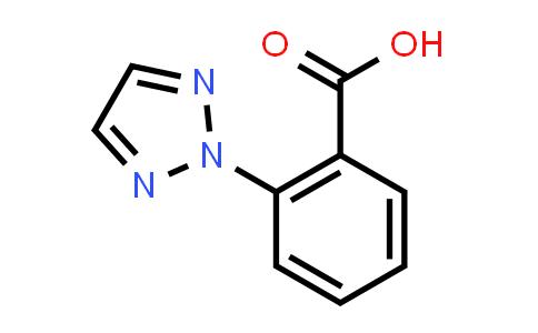 1001401-62-2 | 2-(2H-1,2,3-Triazol-2-yl)benzoic acid