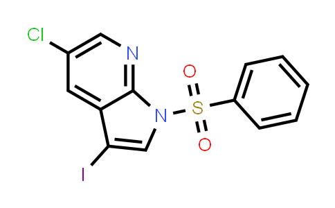 1001414-09-0 | 1H-Pyrrolo[2,3-b]pyridine, 5-chloro-3-iodo-1-(phenylsulfonyl)-