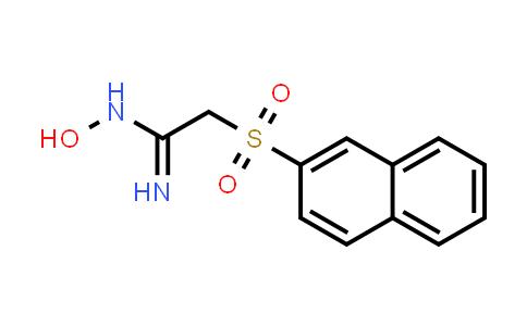 100143-27-9 | Ethanimidamide, N-hydroxy-2-(2-naphthalenylsulfonyl)-
