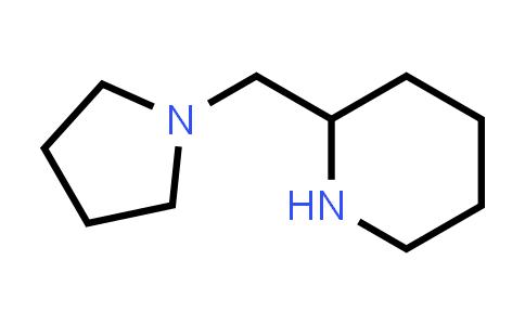 100158-63-2 | 2-(Pyrrolidin-1-ylmethyl)piperidine