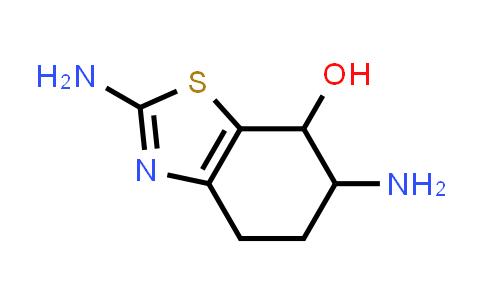 1001648-75-4 | 2,6-Diamino-4,5,6,7-tetrahydrobenzo[d]thiazol-7-ol