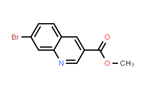 1001756-23-5 | Methyl 7-bromoquinoline-3-carboxylate