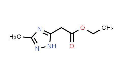 100187-10-8 | 1H-1,2,4-Triazole-5-acetic acid, 3-methyl-, ethyl ester
