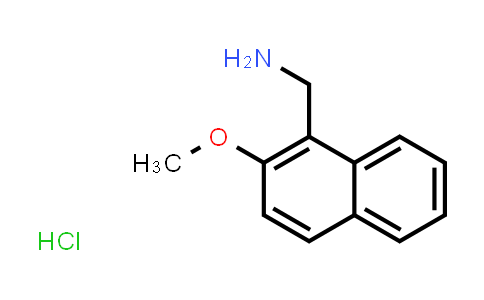 100191-94-4 | 1-(2-Methoxynaphthalen-1-yl)methanamine hydrochloride