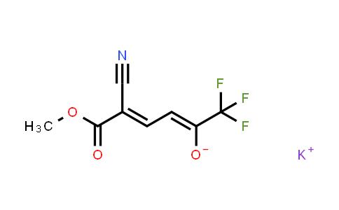 1001924-23-7 | 2,4-Hexadienoic acid, 2-cyano-6,6,6-trifluoro-5-hydroxy-, methyl ester, potassium salt (1:1), (2E,4Z)-