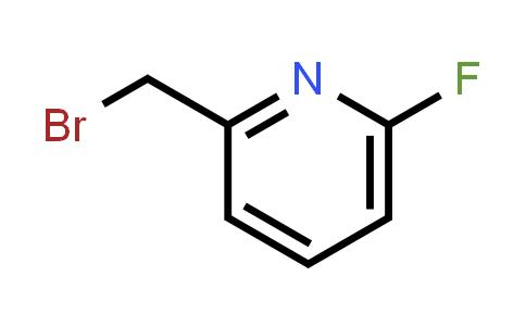 100202-78-6 | 2-(Bromomethyl)-6-fluoropyridine