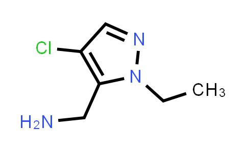 1002032-40-7   1H-Pyrazole-5-methanamine, 4-chloro-1-ethyl-