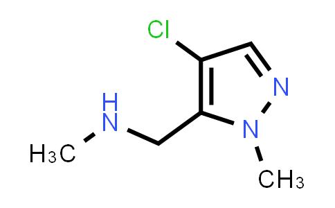 1002032-44-1   1H-Pyrazole-5-methanamine, 4-chloro-N,1-dimethyl-