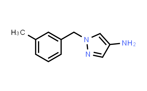 1002033-31-9 | 1H-Pyrazol-4-amine, 1-[(3-methylphenyl)methyl]-
