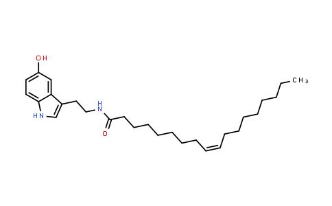 1002100-44-8 | 9-Octadecenamide, N-[2-(5-hydroxy-1H-indol-3-yl)ethyl]-, (9Z)-
