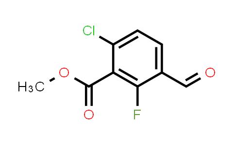 1002106-09-3 | Methyl 6-chloro-2-fluoro-3-formylbenzoate