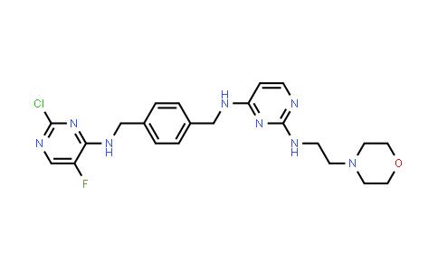 1002158-55-5 | 2,4-Pyrimidinediamine, N4-[[4-[[(2-chloro-5-fluoro-4-pyrimidinyl)amino]methyl]phenyl]methyl]-N2-[2-(4-morpholinyl)ethyl]-