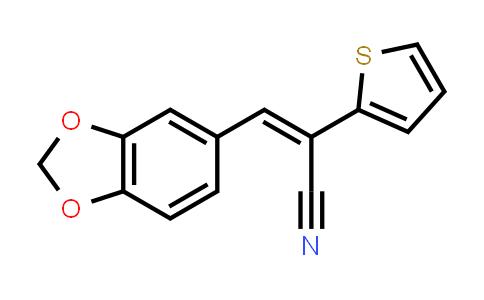 1002342-12-2 | 2-Thiopheneacetonitrile, α-(1,3-benzodioxol-5-ylmethylene)-, (αE)-