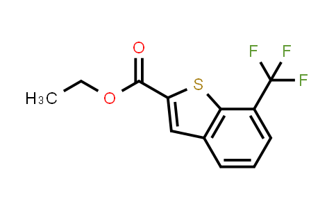 1002355-89-6 | Benzo[b]thiophene-2-carboxylic acid, 7-(trifluoromethyl)-, ethyl ester
