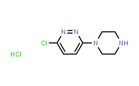 100241-11-0 | 3-Chloro-6-(piperazin-1-yl)pyridazine hydrochloride