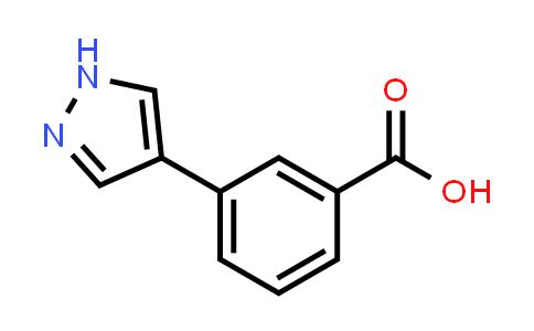 1002535-21-8 | 3-(1H-Pyrazol-4-yl)benzoic acid