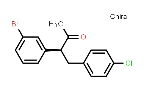 1002752-54-6 | (S)-3-(3-bromophenyl)-4-(4-chlorophenyl)butan-2-one