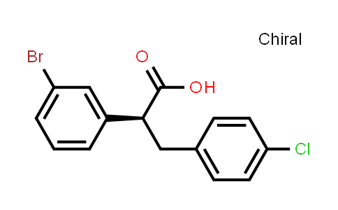 1002752-55-7 | (S)-2-(3-bromophenyl)-3-(4-chlorophenyl)propanoic acid