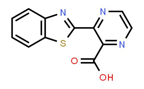 100283-52-1 | 3-(1,3-Benzothiazol-2-yl)pyrazine-2-carboxylic acid
