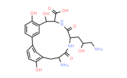 100296-21-7   Biphenomycin A
