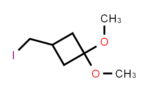 1003013-83-9 | Cyclobutane, 3-(iodomethyl)-1,1-dimethoxy-