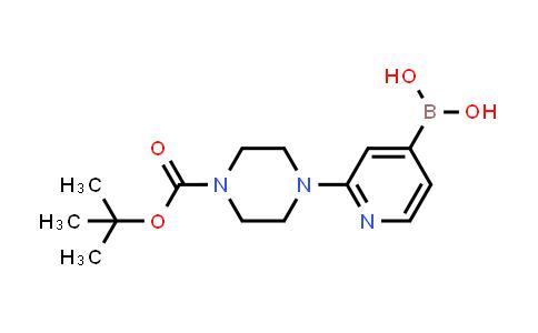 1003043-73-9   (2-(4-(tert-Butoxycarbonyl)piperazin-1-yl)pyridin-4-yl)boronic acid