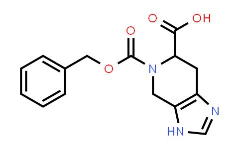 100307-49-1 | 5-((Benzyloxy)carbonyl)-4,5,6,7-tetrahydro-3H-imidazo[4,5-c]pyridine-6-carboxylic acid
