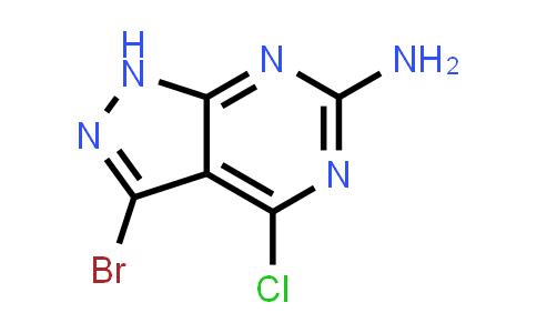 1003298-79-0 | 1H-Pyrazolo[3,4-d]pyrimidin-6-amine, 3-bromo-4-chloro-