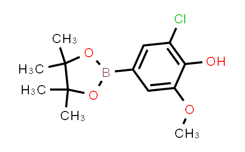 1003298-84-7 | Phenol, 2-chloro-6-methoxy-4-(4,4,5,5-tetramethyl-1,3,2-dioxaborolan-2-yl)-