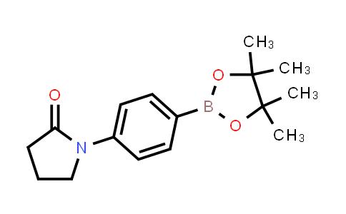 1003309-09-8 | 1-(4-(4,4,5,5-Tetramethyl-1,3,2-dioxaborolan-2-yl)phenyl)pyrrolidin-2-one