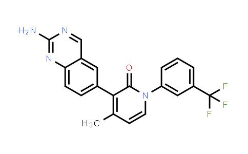 1003311-74-7 | 2(1H)-Pyridinone, 3-(2-amino-6-quinazolinyl)-4-methyl-1-[3-(trifluoromethyl)phenyl]-