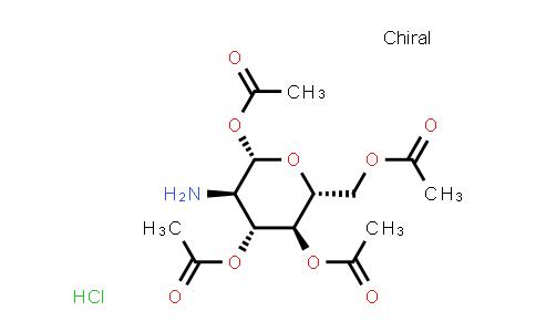 10034-20-5 | (2S,3R,4R,5S,6R)-6-(Acetoxymethyl)-3-aminotetrahydro-2H-pyran-2,4,5-triyl triacetate hydrochloride
