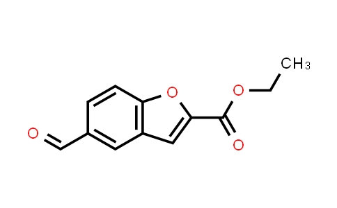 10035-37-7 | 2-Benzofurancarboxylic acid, 5-formyl-, ethyl ester