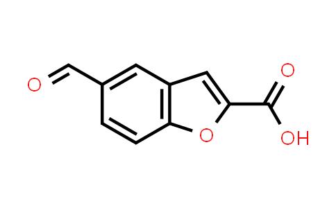 10035-38-8 | 5-Formyl-1-benzofuran-2-carboxylic acid