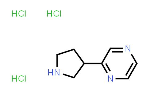 1003561-82-7 | Pyrazine, 2-(3-pyrrolidinyl)-, hydrochloride (1:3)